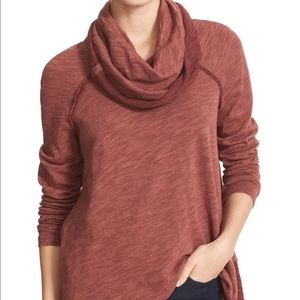 Free People Cocoon Cowl Pullover Med